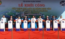 prime minister launches construction of cement plant in binh phuoc
