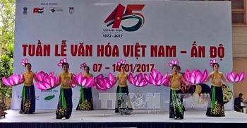 vietnam india culture week opens in hcm city