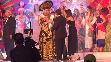 vietnamese beauty wins best costume at miss tourism international