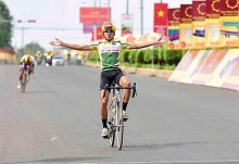 ky wins 4th stage of ben tre television event