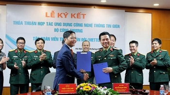 moit viettel sign agreement to boost e governance e commerce
