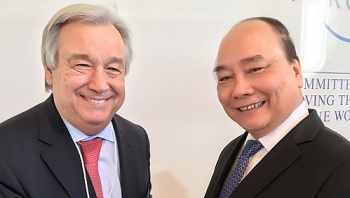 high level sessions meetings fill vietnamese pms schedule in davos