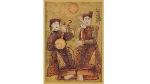tale of kieu lacquer painting auctioned for us 83000