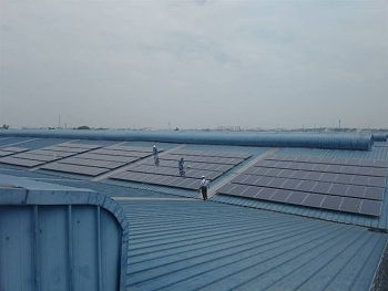 vietnams largest rooftop solar power system put into operation