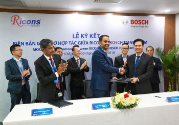 bosch ricons sign mou on construction and real estate development