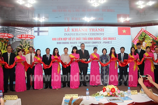 binh duong waste treatment complex put into use