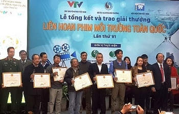 winners of environmental film festival honored