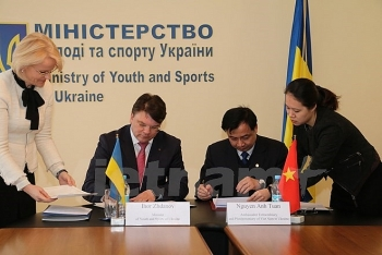 vietnam ukraine sign sports cooperation agreement