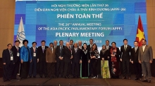 appf 26 final plenary session approves hanoi declaration