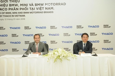 thaco aims to open 15 bmw mini showrooms
