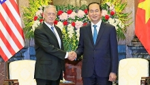 president vietnam treasures comprehensive relations with the us