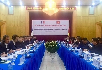 vietnam france hold high level economic dialogue