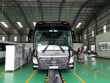 thaco opens smart truck bus showroom