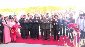 vietnam rubber latex processing plant inaugurated in cambodia