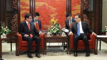 china japan agree to hold china japan rok summit as soon as possible