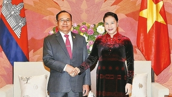 na chairwoman meets cambodian senate vice president