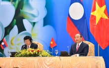 vietnamese lao pms co chair meeting of inter governmental committee