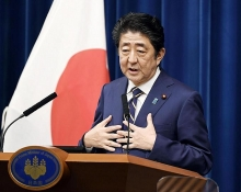 japans abe says vigilant to global economic risks clouding recovery