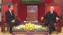 vietnamese party state leader welcomes chinese ambassador