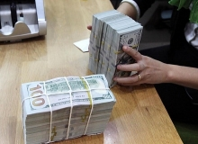 central bank builds up currency reserves