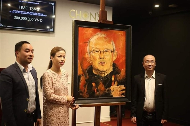 portrait of coach park fetches us 12000 for charity