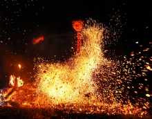 the mysterious fire dance of the pa then people