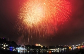 various activities to welcome new year 2021