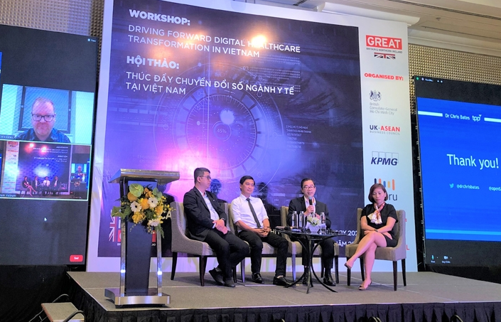 great potential seen for vietnam uk cooperation in digitalized healthcare