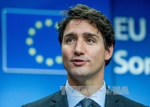 canadian prime minister sends greetings to vietnamese on tet