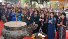 vice president attends trung sisters uprising celebration