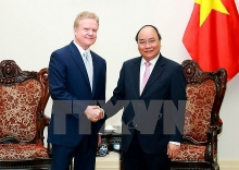 vietnam continues boosting ties with the us pm