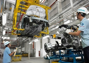 industrial production rises slightly