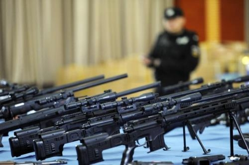 global arms trade highest since cold war study