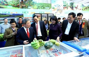 fifth safe farm products supermarket in hanoi opens