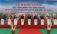 president asks for thanh hoas rapid sustainable growth