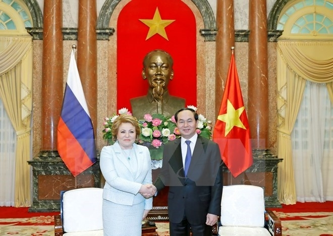 president expects breakthroughs in vietnam russia economic cooperation