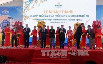 143 million usd cattle feed factory inaugurated in nghe an
