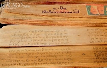 khmer writing on buong leaf gets national intangible heritage status