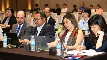 apec som1 related meetings busiest on sixth day
