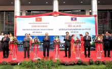 vietnam funded training center inaugurated in laos