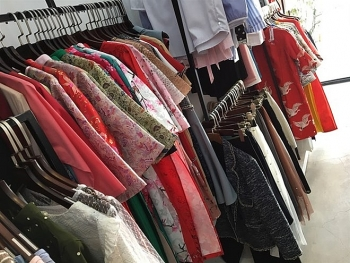 young people shop for affordable ready to wear ao dai for tet