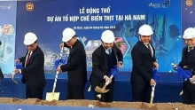 masan starts meat processing complex in ha nam