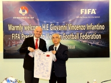fifa pledges support for vietnams football development