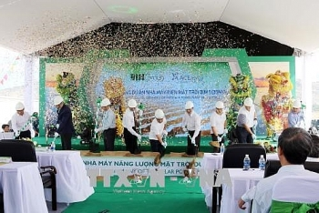 work begins on 800 billion vnd solar power project in ninh thuan
