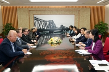 deputy pm receives sos childrens villages intl delegation