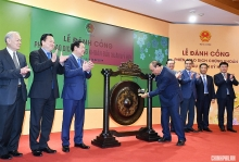 pm beats gong to open first securities trading session after tet