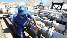 opec oil production falls as saudi arabia slashes output