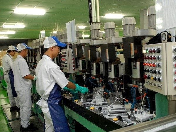 manufacturing processing sector drives development