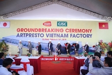 work starts on japanese packaging factory in ha nam