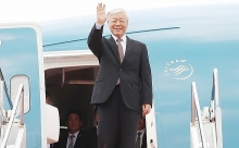 top vietnamese leader to visit laos cambodia